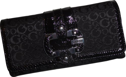 Women's Guess Wallet Juno Coal (Black)