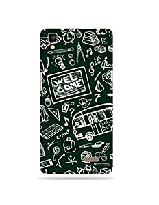 alDivo Premium Quality Printed Mobile Back Cover For Oppo R7 / Oppo R7 Case Cover (XT006)