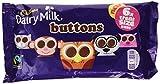 Cadbury Dairy Milk Buttons Treatsize Bags, 6 x 14.4g