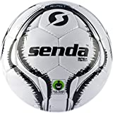 Senda Apex Match Soccer Ball, Fair Trade Certified, Black/White, Size 5 (Ages 13 & Up), Size 5 (Ages 13 & Up)/...
