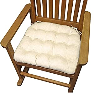 Rocking Chair Seat Cushion W Ties Jumbo XXL Extra Extra La