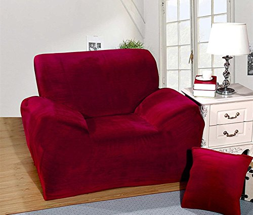 sofa couch slipcover stretch covers elastic fabric settee pr