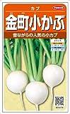 【種子】かぶ 金町小カブ 8ml