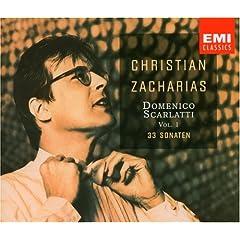 輸入盤CD クリスティアン・ツァハリアス(P) D.スカルラッティ:ソナタ集(2枚組)のAmazonの商品頁を開く