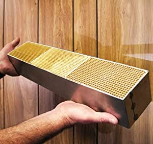 "Ceramic Honeycomb Catalytic Combustor (CC-453) for FIREPLACE XTRORDINAIR models FPX36 Elite, FPX44 Elite, by Travis Industries. Measures 3.6"" wide, 18"" long and 3"" thick. Made in the USA by Condar, ""The Combustor Experts."""