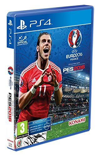 PES 2016 Pro Evolution Soccer UEFA EURO 2016 screenshot