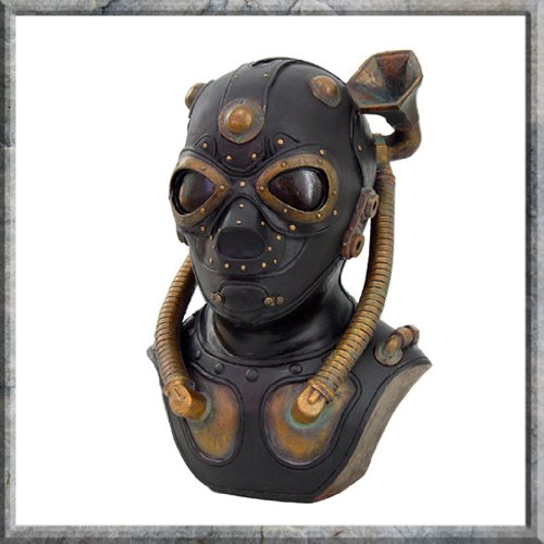 Steampunk Noise Wave Enhancement Helmet