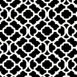 Moroccan Wall and Floor Stencil - 7.5 mil standard