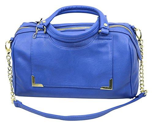 olivia-joy-womens-melialuna-faux-leather-satchel-handbag-blue-medium
