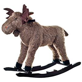Happy Trails Plush Rocking Animal with Sounds - Choose Animal!