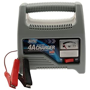 Maypole 7414 4A Battery Charger 12V To 1200cc