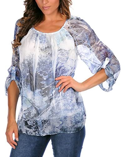 Special Silk by Bleu Marine Blusa Sam Azul