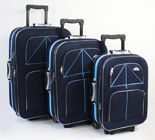 Kofferset Koffer Ultraleichte Trolley Reisekoffer-Set
