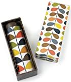 Orla Kiely Microslim Luxury Gift Box Multi Stem Umbrella 15.5cms Closed