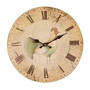 Premier Housewares Home To Roost Wall Clock - 29 cm