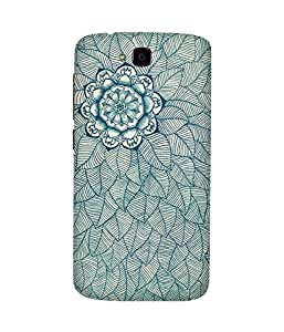 Flower And Lead Doodle Huawei Honor Holly Case