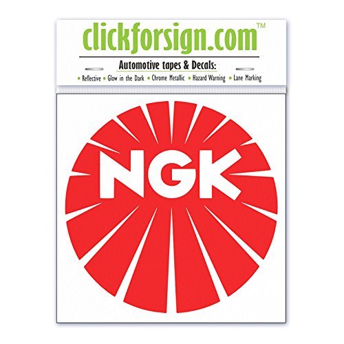 Clickforsign Ngk Racing Decal Car Sticker 2 X 2 Inch Price