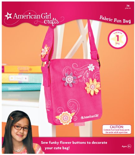 American Girl Fun Fabric Bag Warm Colors