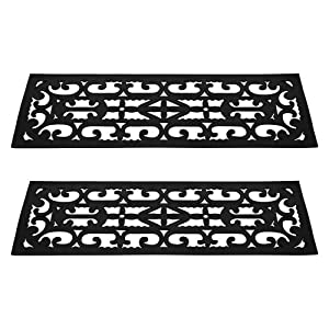 Non-Slip Stair Tread Mats 2 Piece by Pure Garden