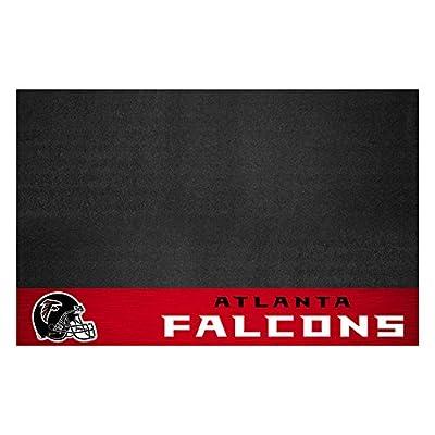 Fanmats 12175 NFL Atlanta Falcons Vinyl Grill Mat