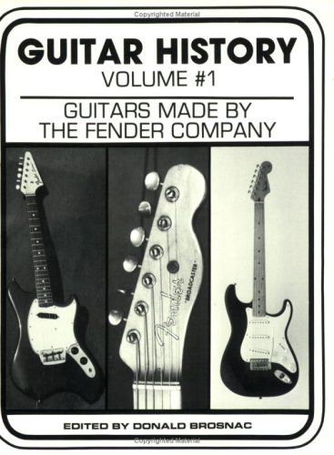 Guitar History: Guitars Made By The Fender Company