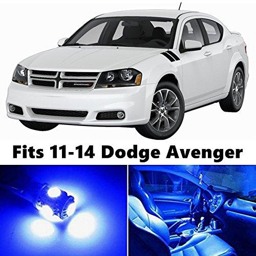 8-x-premium-blue-led-lights-interior-package-kit-for-for-2011-2014-dodge-avenger