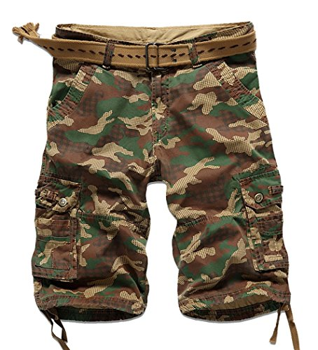 Lega Mens -  Pantaloncini  - Piumino - Uomo Yello Army/3630 XX-Small