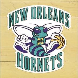 NBA Floor Piece with Logo Team: New Orleans Hornets