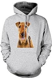 Hoodie Airdale Terrier Pet Dog by Black Sheep Clothing