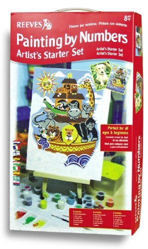 Reeves Junior Painting by Numbers Artist's Starter Set