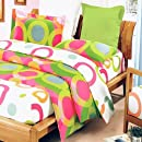 Blancho Bedding   Rhythm Of Colors 100 Cotton 5pc Mega Comforter Coverduvet Cover Combo Twin Size