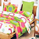 Blancho Bedding - [Rhythm of Colors] 100% Cotton MEGA Comforter Cover/Duvet Cover Combo