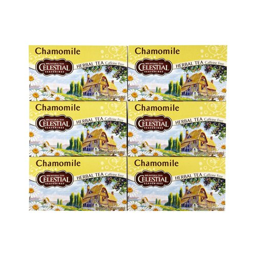 Celestial Seasonings Herbal Tea - Caffeine Free - Chamomile - 20 Bags