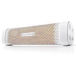 Denon Enyaya Mini DSB100WTEM Portable Bluetooth Speakers (White)