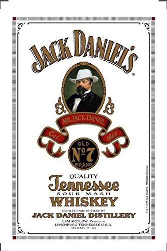 """'Specchio quadro """", Jack Daniels, supporta, 20x 30cm, hinterglasd scossone, immagini da parete decorativo bevande"""