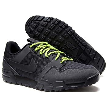 f29fbe75e4fc Nike Mens Athletic Sneakers Size 9.5M 536357030 Mogan 2 Oms Black Leather    Mesh