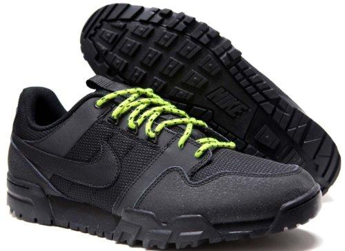 Nike Mogan 2 Oms - Black / Black-Atomic Green, 8 D Us