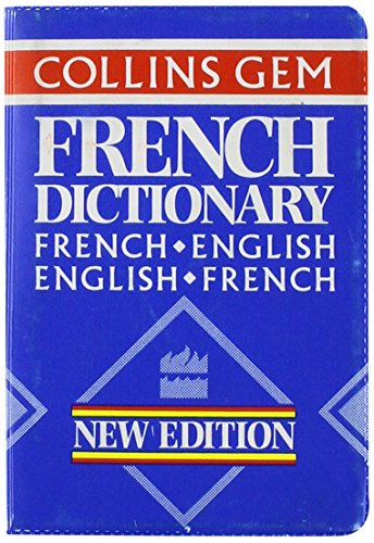 Collins Gem French Dictionary: French-English English-French (Collins Gems) PDF