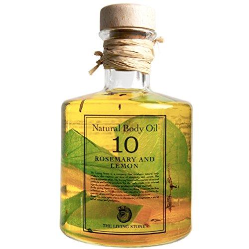 リビングストーン ナチュラルオイル 10 ローズマリー&レモン 200ml