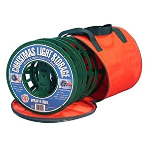 Christmas Light Company Storage Bag Red