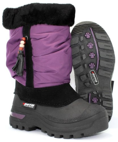 Baffin Junior Susan - Plum Boot Size 3