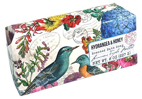 san-francisco-triple-milled-bath-bar-soap-pillow-gift-box-8-oz-each-hydrangea-honey-1-pack-by-san-fr