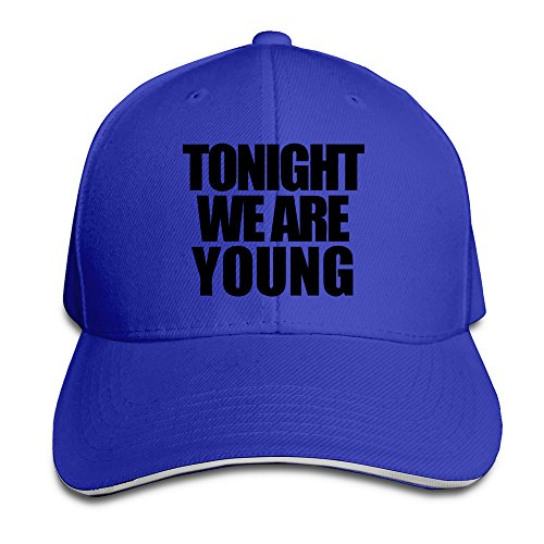 we-are-young-unisex-100-cotton-adjustable-trucker-hat-royalblue-one-size