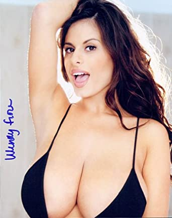 Wendy Fiore autographed photo at Amazon's Entertainment Collectibles