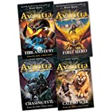 Adam Blade The Chronicles of Avantia 4 Books Collection Pack Set RRP: �23.96 (First Hero, Fire and Fury, Chasing Evil, Call to War)by Adam Blade