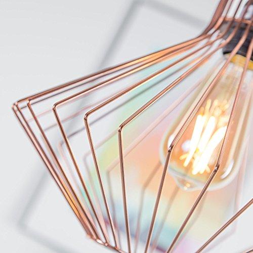 Lampada-a-sospensione-in-rame-lampada-a-sospensione-Vintage-E27-max-42W