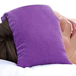 Organic Maati Nature Soothe Hot/Cold Body Wrap (Purple, 16 Cms X 49 Cms X 1.5 Cms) - Clove