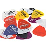 Water and Wood 20pcs Smooth Nylon 0.71mm Guitar Picks Plectrums