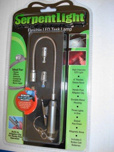 Serpent Light, 6-In Flexible Led Task Light