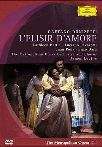 Elisir D'Amore (Batlle-Pavarotti) -  Donizetti - DVD